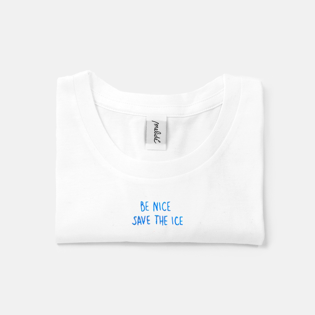 The SAVE THE ICE slim fit tee