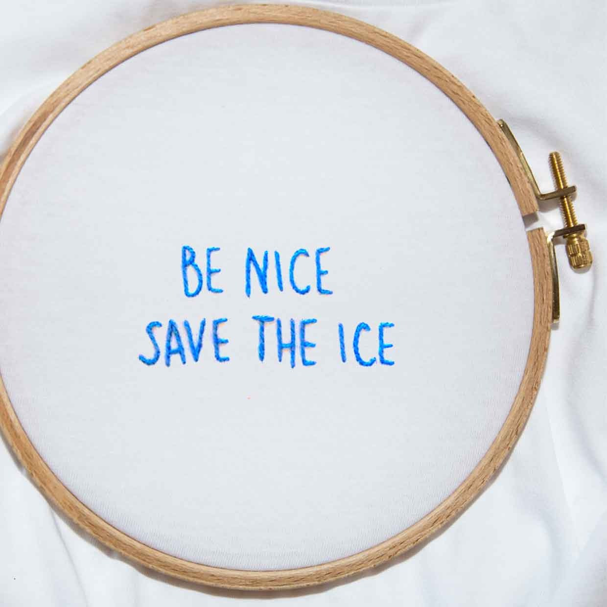 The SAVE THE ICE ultimate tee