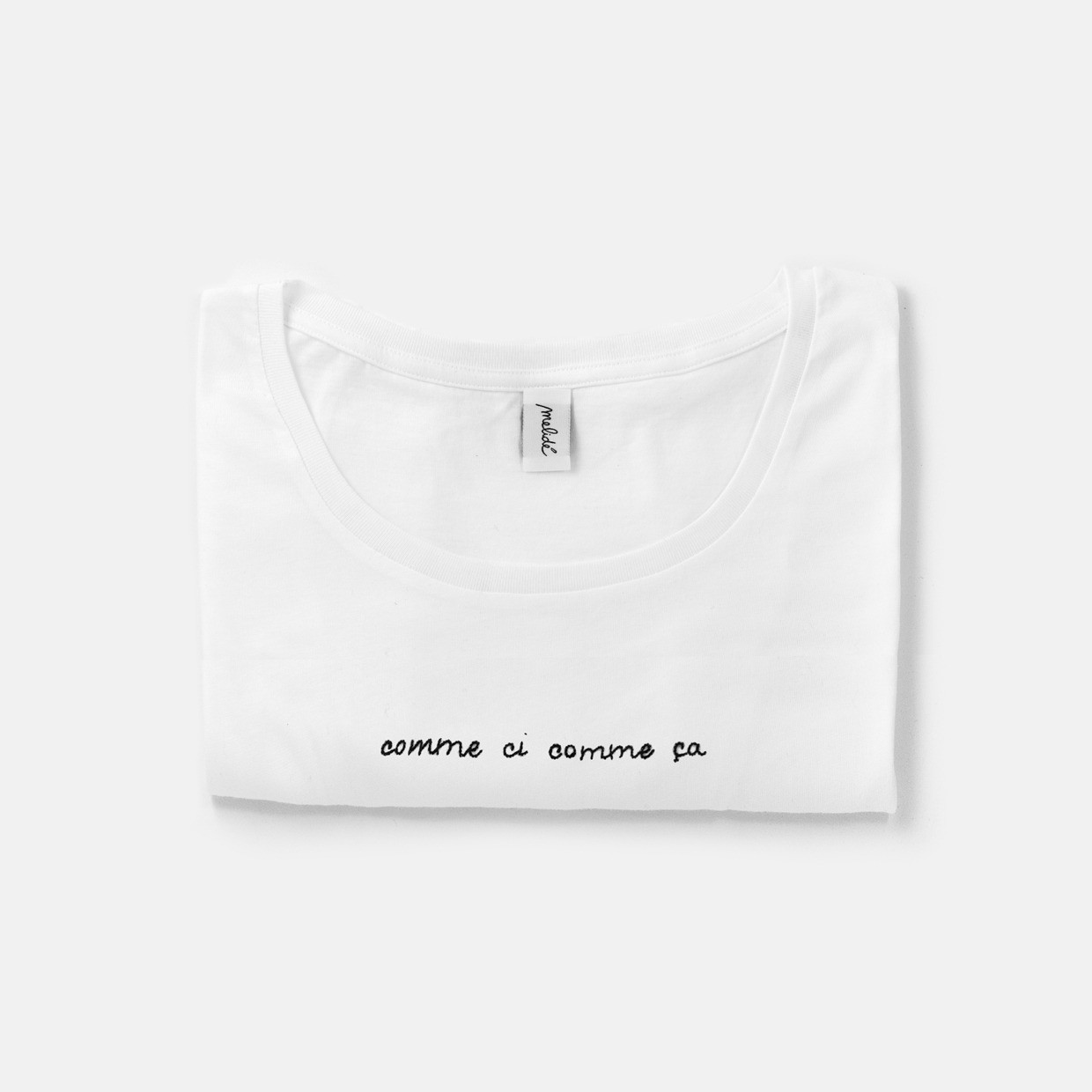 The COMME CI COMME ÇA wide neck tee
