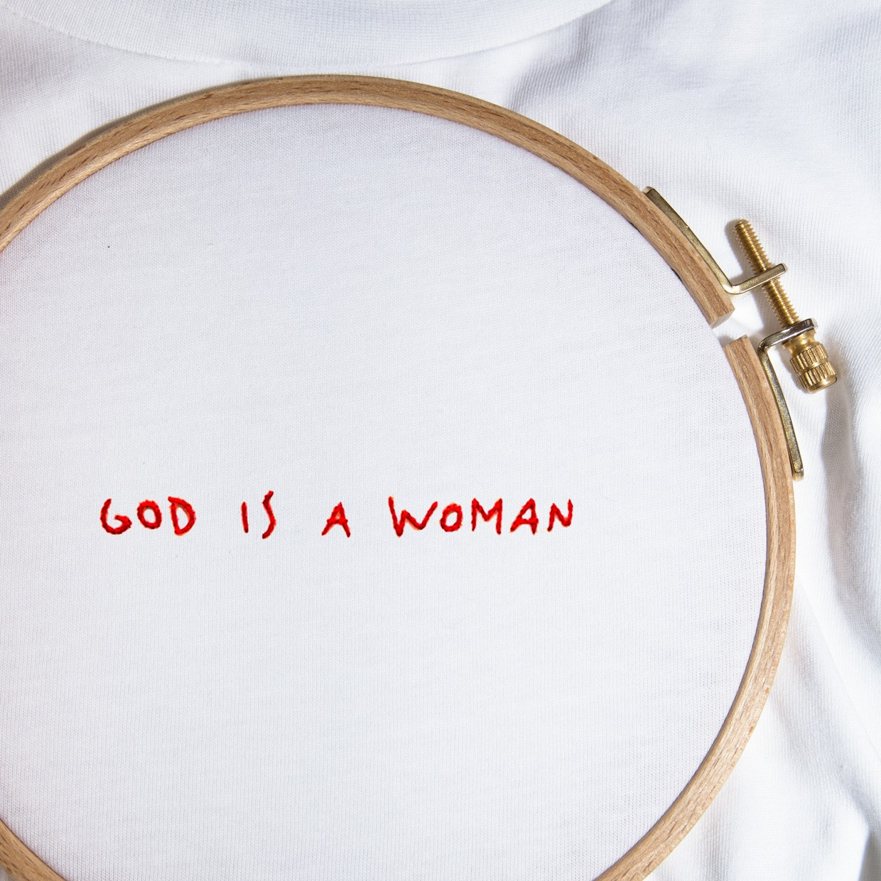The GOD IS A WOMAN tee