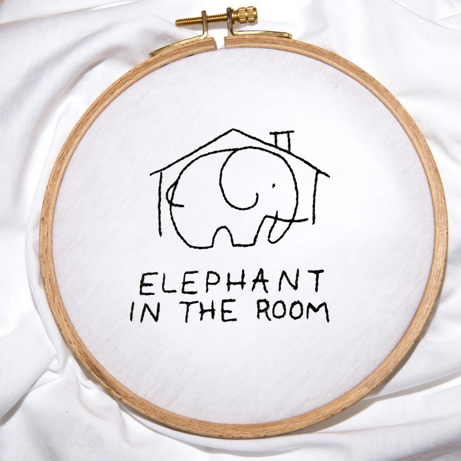 The ELEPHANT IN THE ROOM tee – melidé X Giulia Valentina
