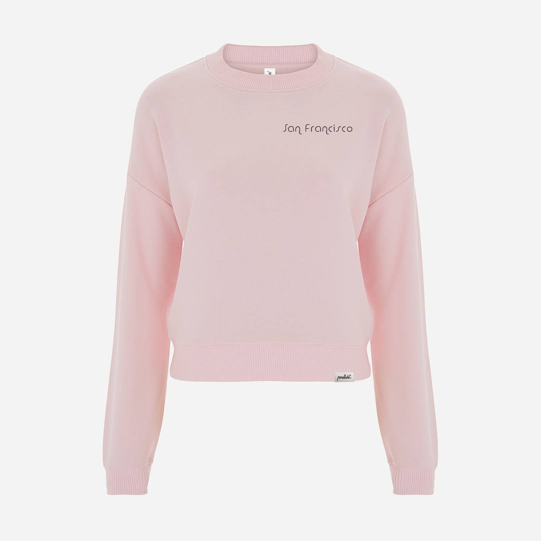 The SAN FRANCISCO cropped sweatshirt
