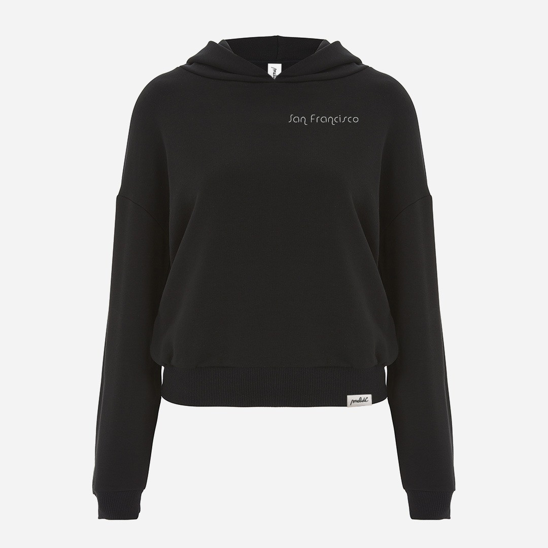 The SAN FRANCISCO cropped hoodie