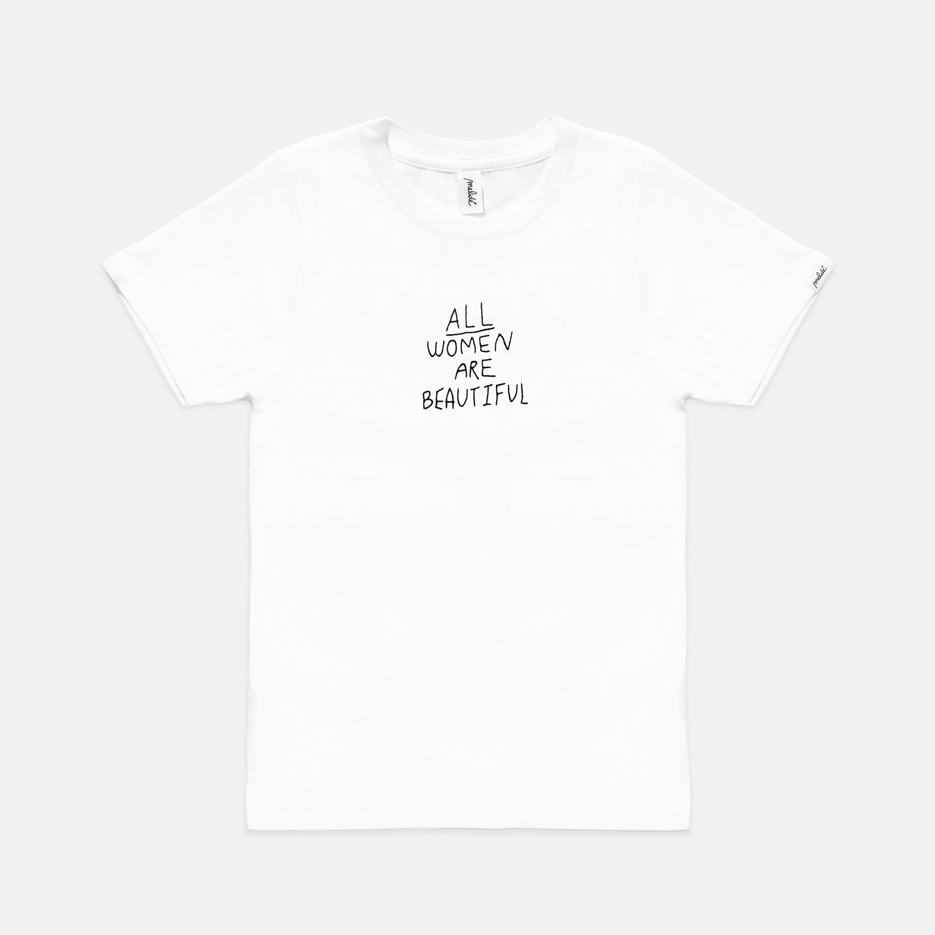 The ALL WOMEN ARE BEAUTIFUL tee