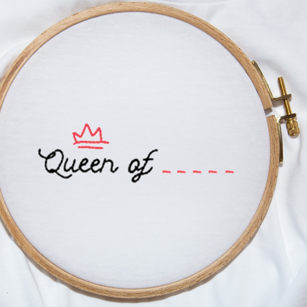 The QUEEN OF... Tee