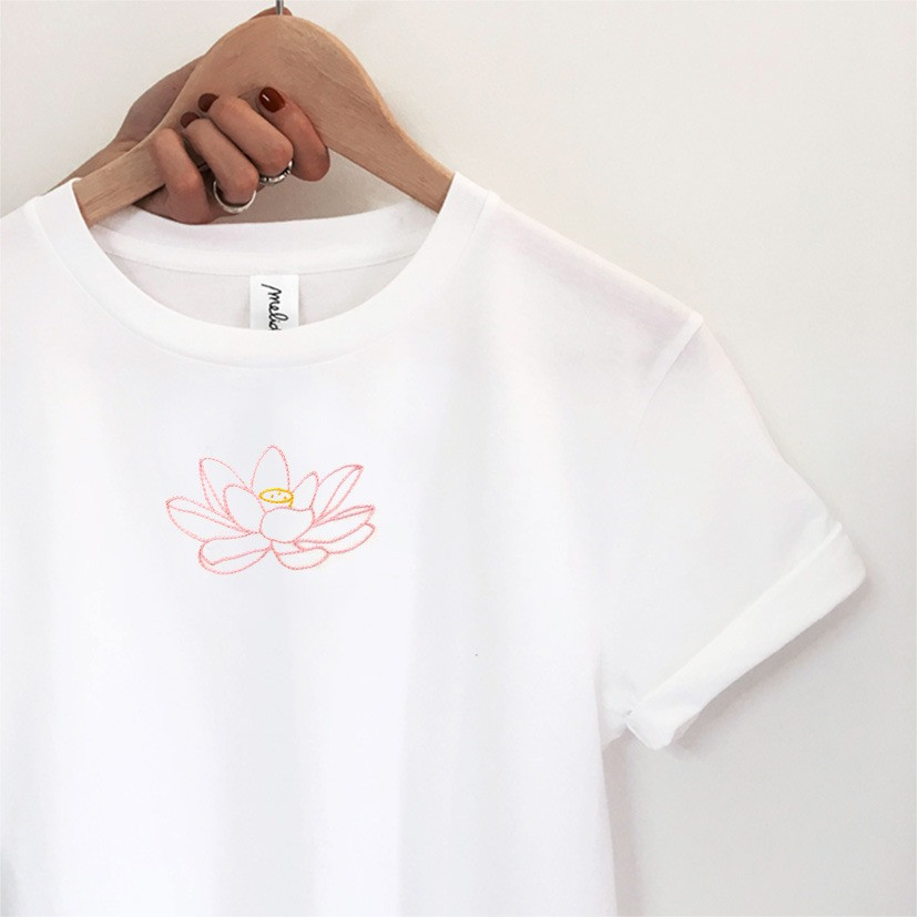 The FIORE DI LOTO tee
