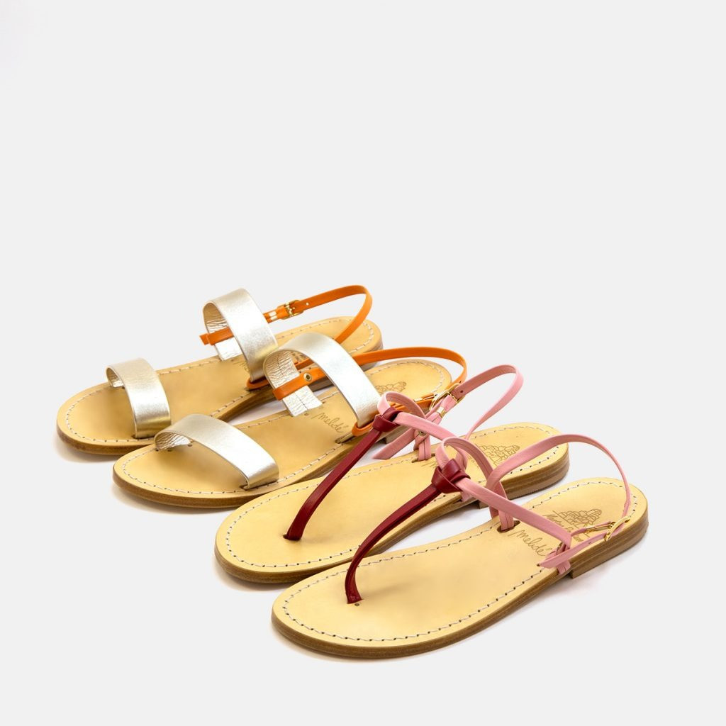 The SUNSET sandals