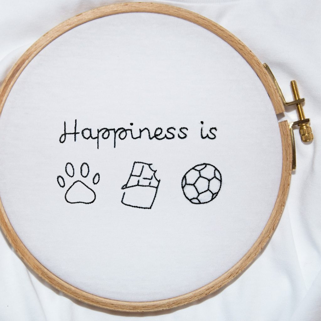 The HAPPINESS IS tee