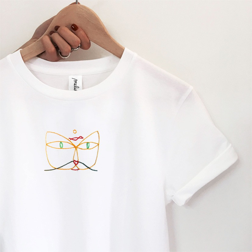 The CAT & BIRD tee
