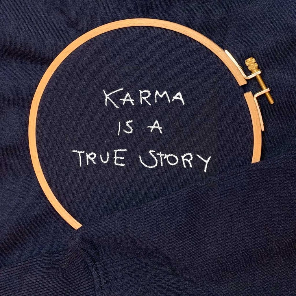 The TRUE STORY sweatshirt