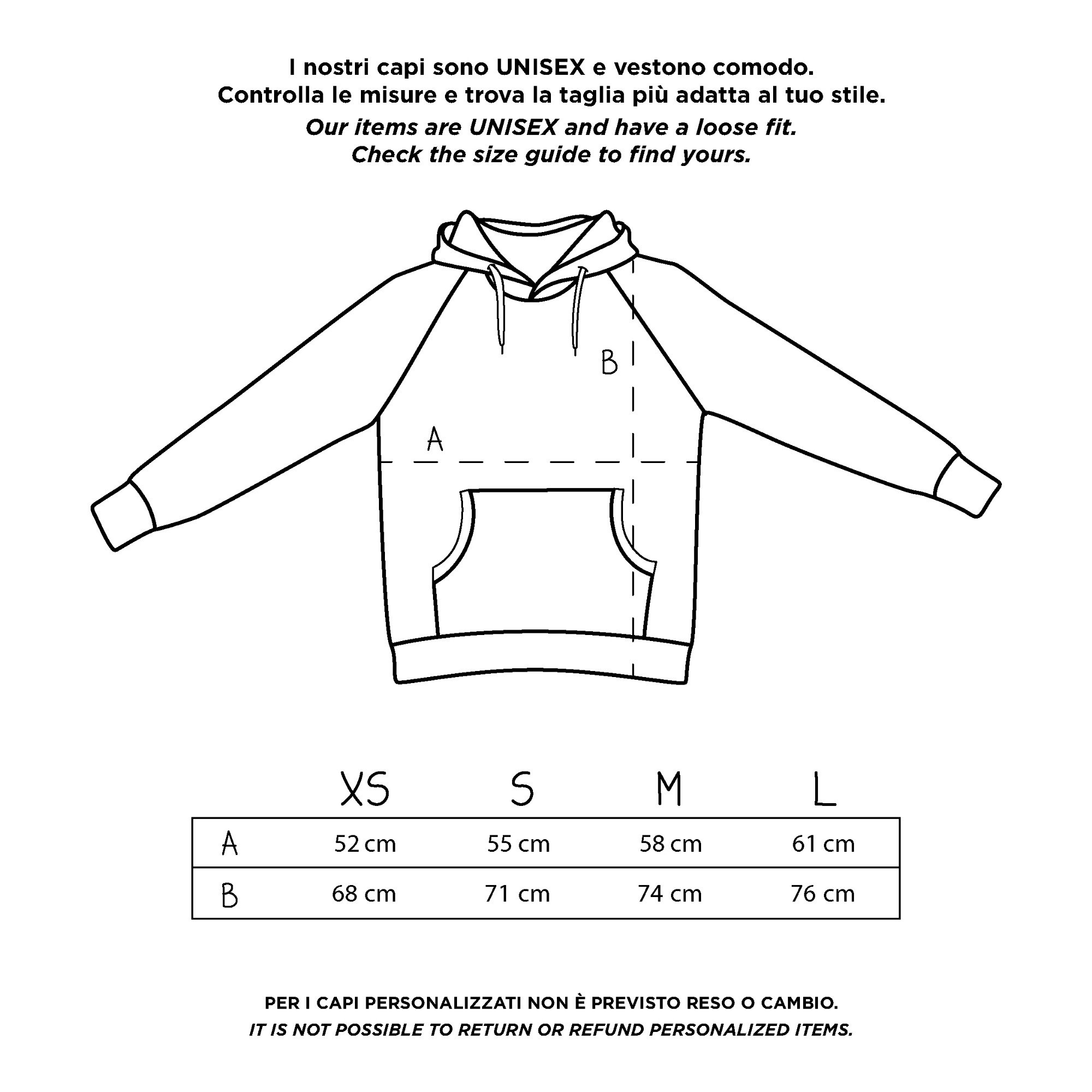 my melidé - The LOVE AT FIRST SIGHT hoodie