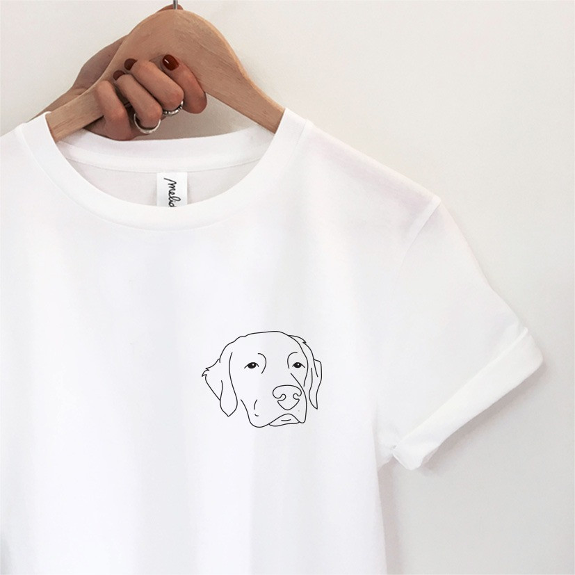 my melidé - The LABRADOR CHOCOLATE tee