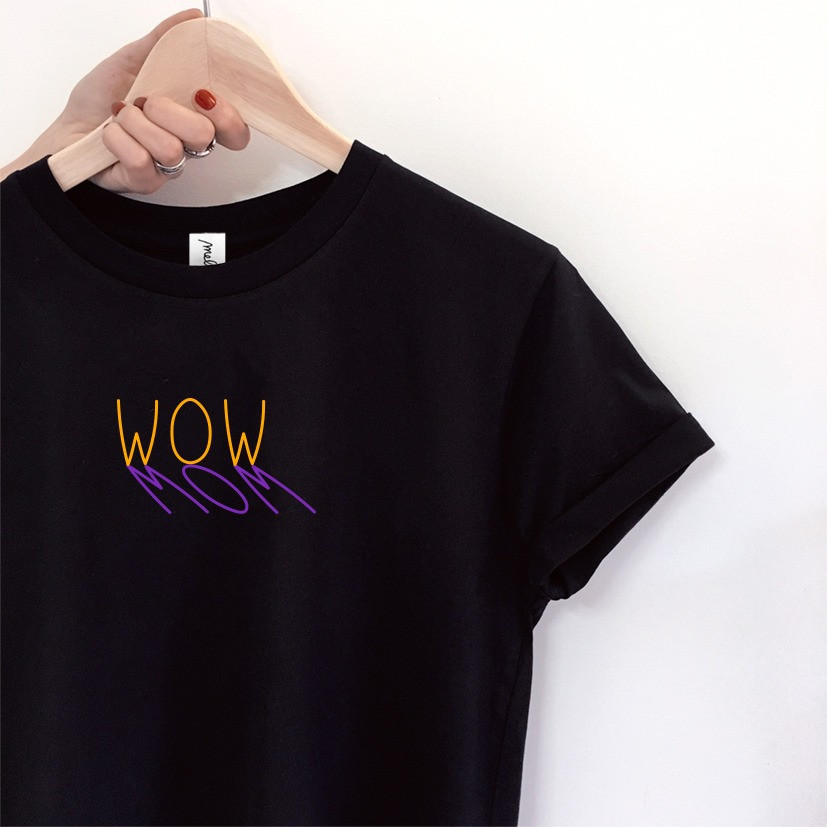 The WOW MOM tee