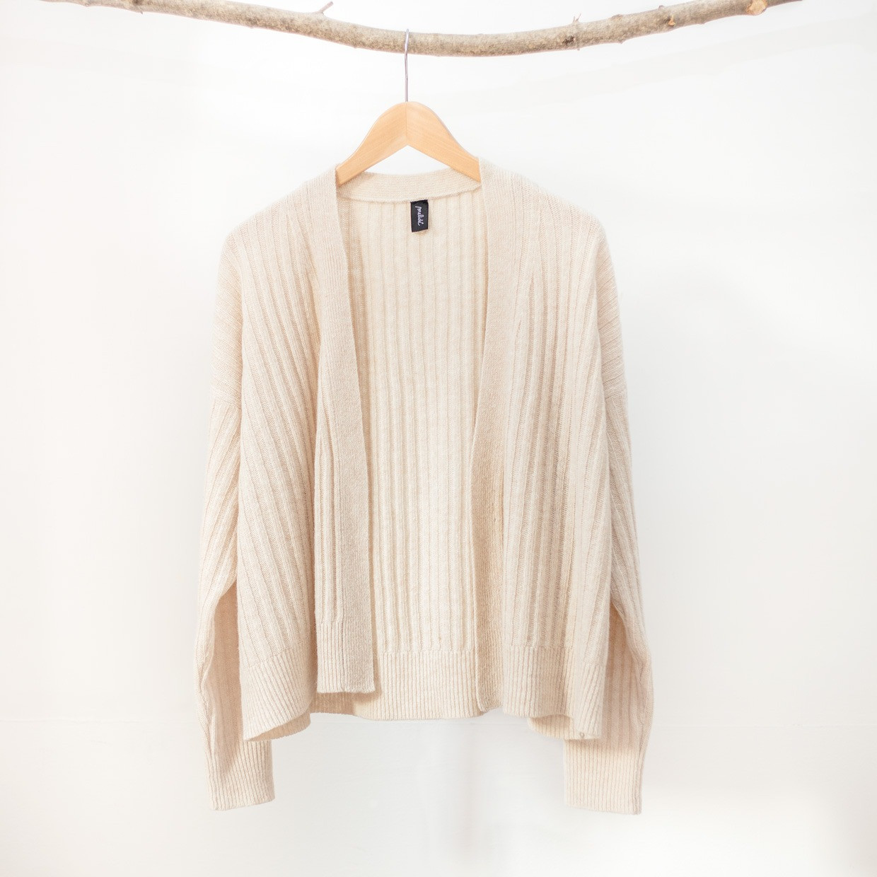 The SLOUCHY cardigan - Beige
