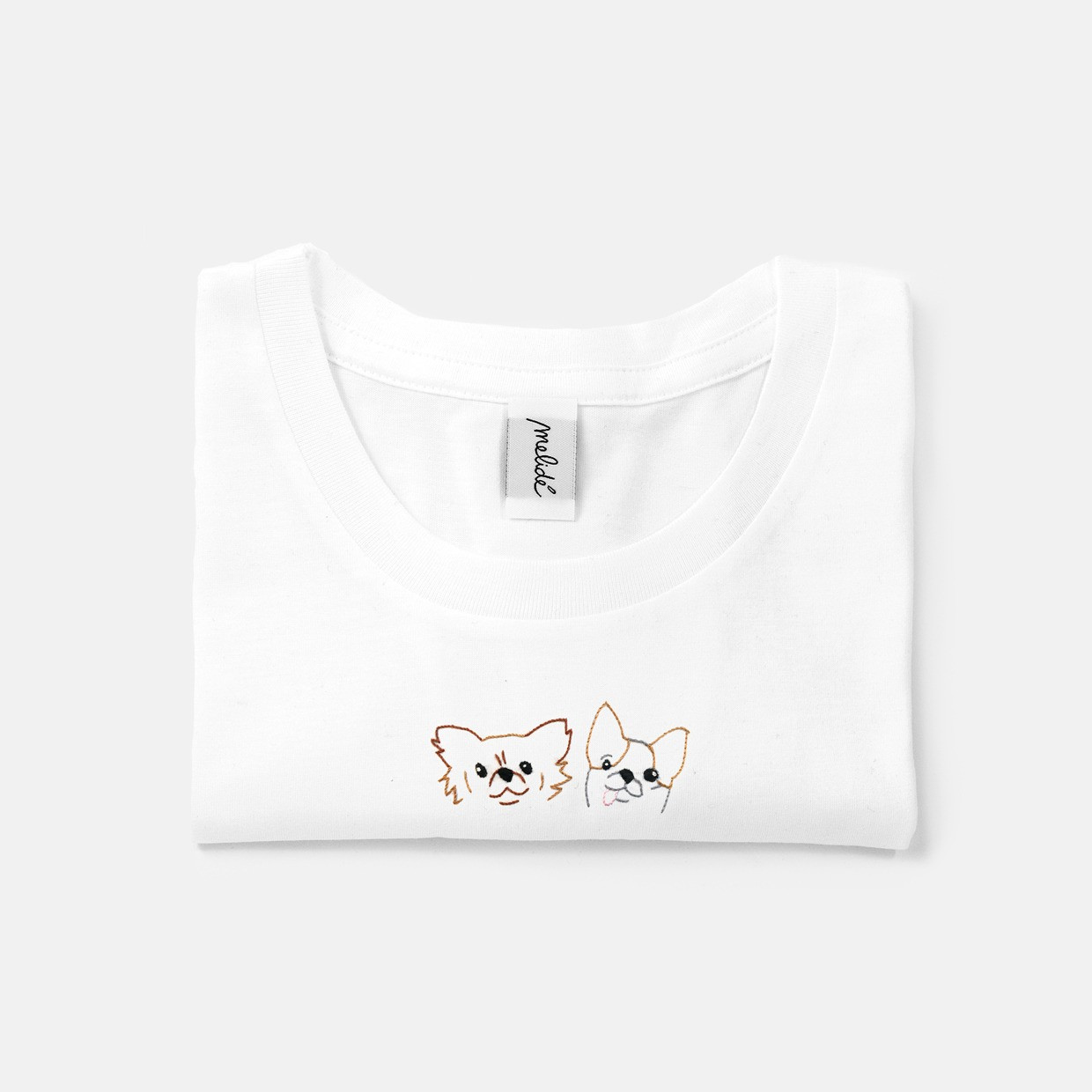 The Gue and Chew slim fit tee
