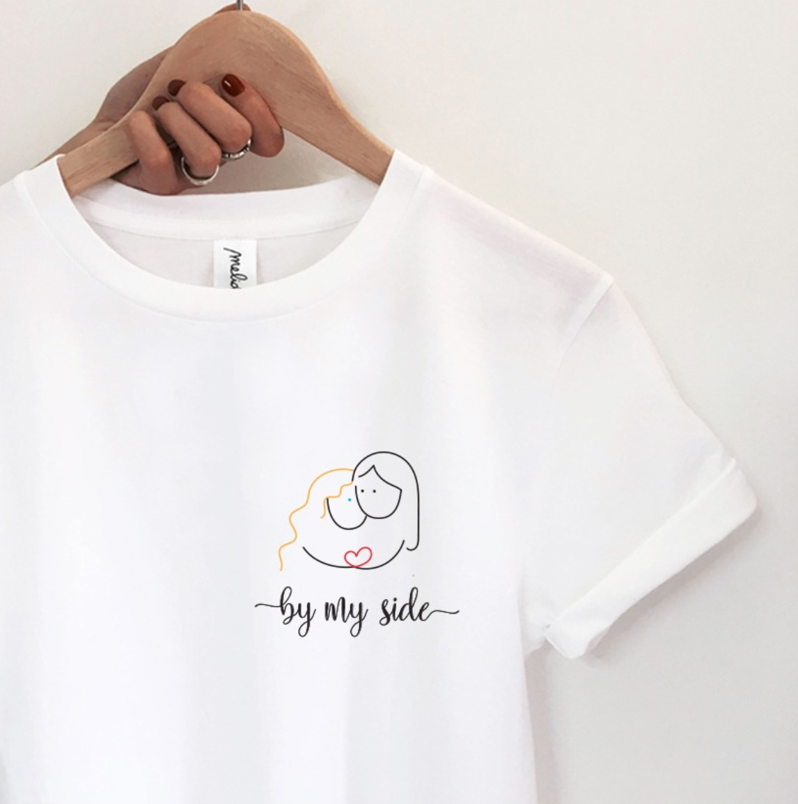 my melidé - The BY MY SIDE ultimate tee