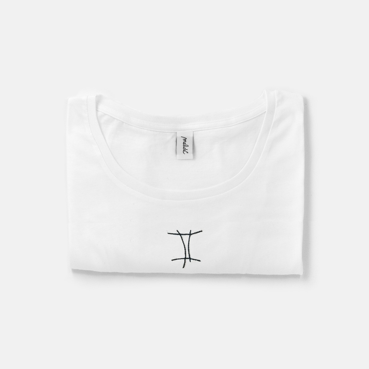 The Wide Neck Gemelli Tee