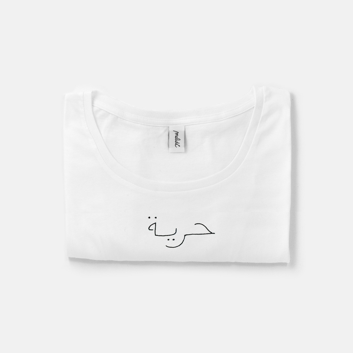 The Wide Neck LIBERTÀ Tee