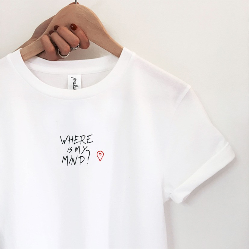 The WHERE IS MY MIND tee - LAURA