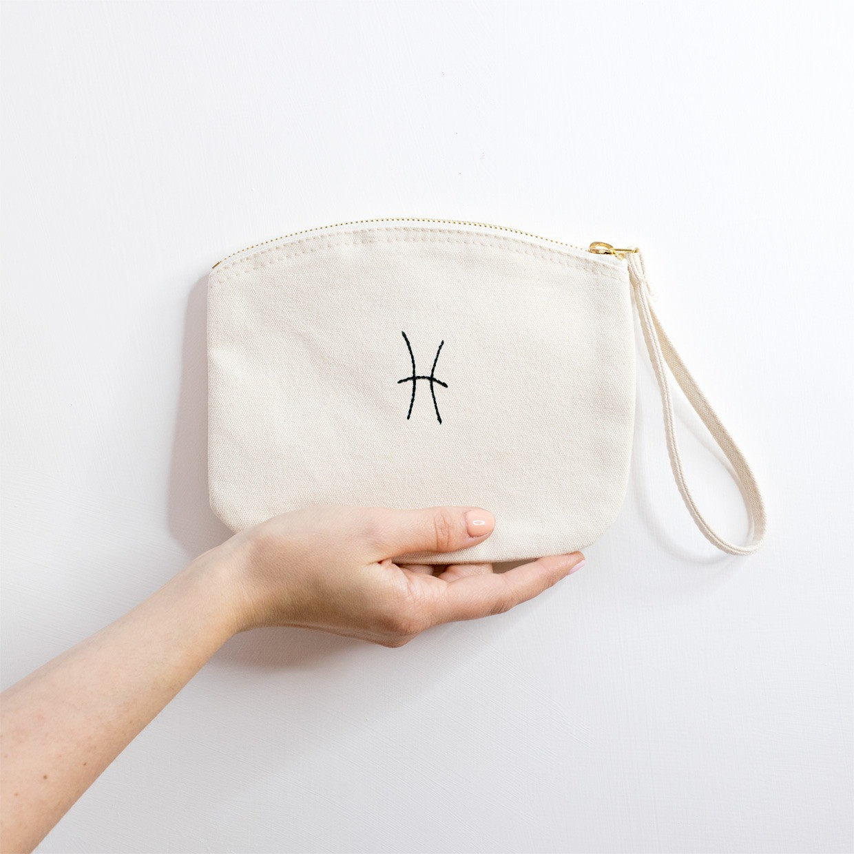 The ZIPPED POUCH M - Pesci