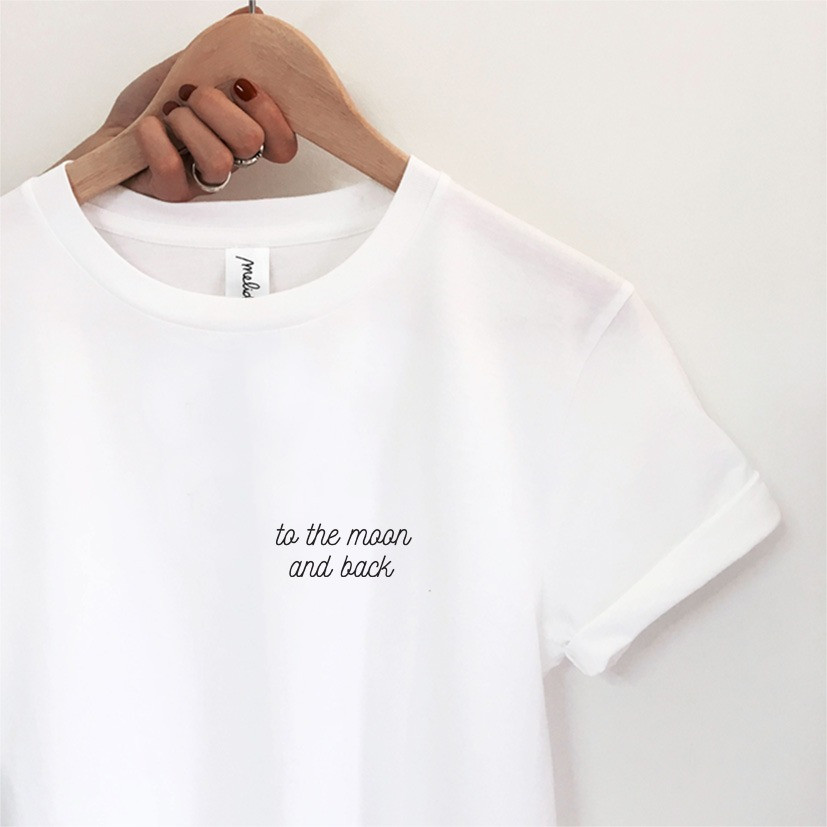 The TO THE MOON AND BACK Tee