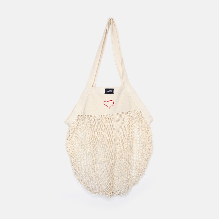 The GROCERY bag - Heart essential