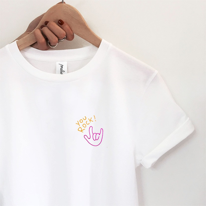 The YOU ROCK! tee