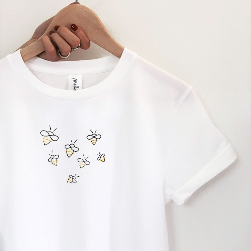 The PERSONALIZED BEES tee