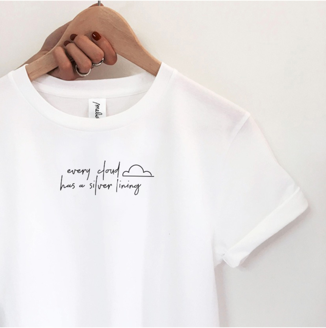 mymelidé - The SILVER LINING ultimate tee