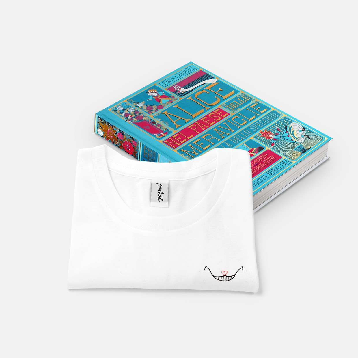 T-shirt Stregatto + libro pop-up