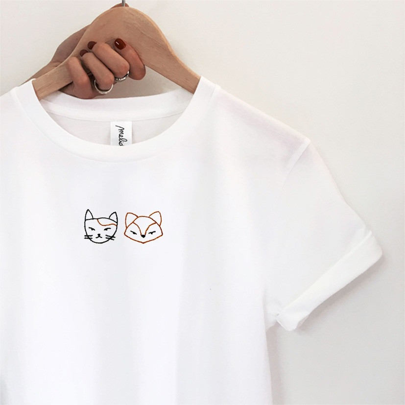 T-shirt Gatto e Volpe + libro pop-up