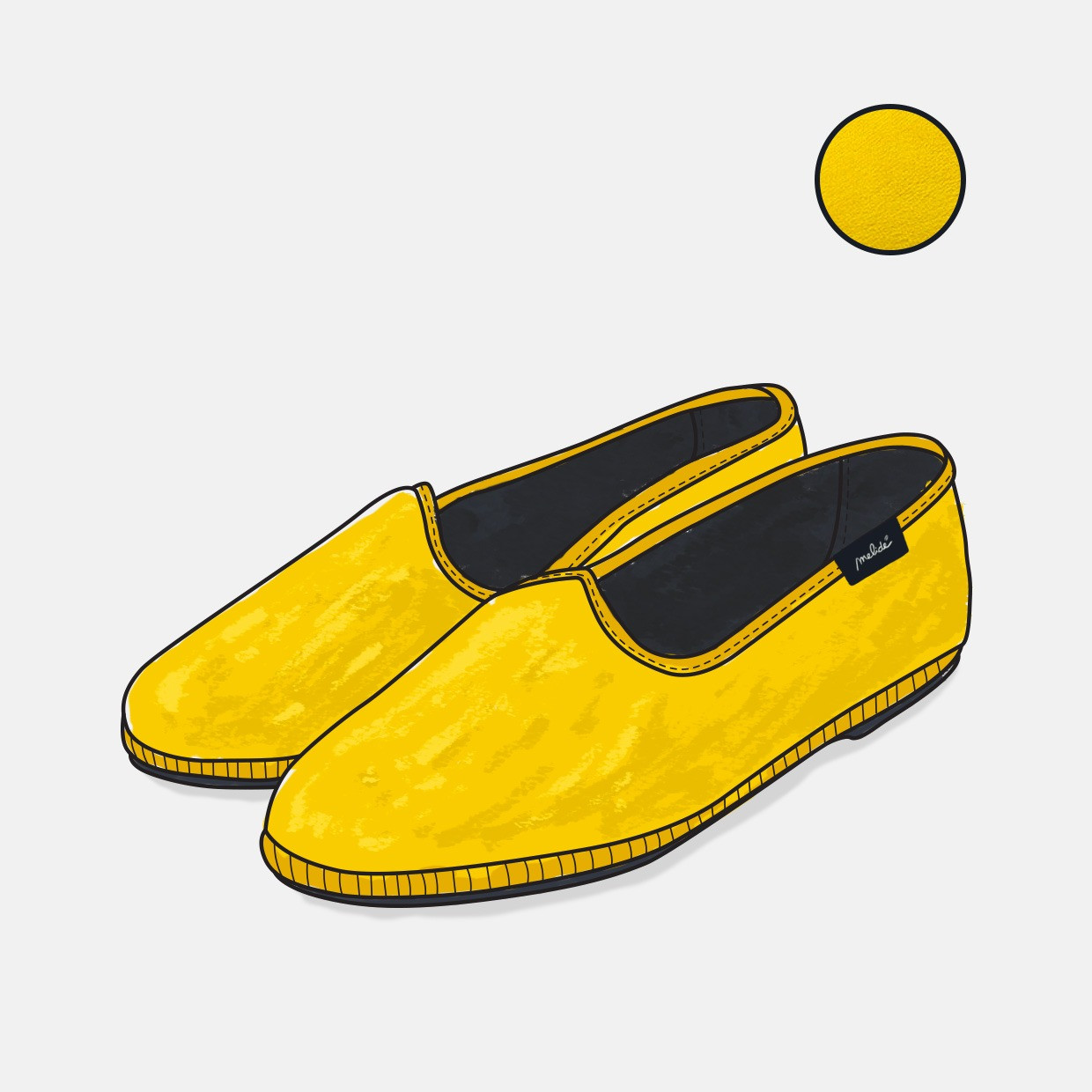 The COSY shoes - giallo
