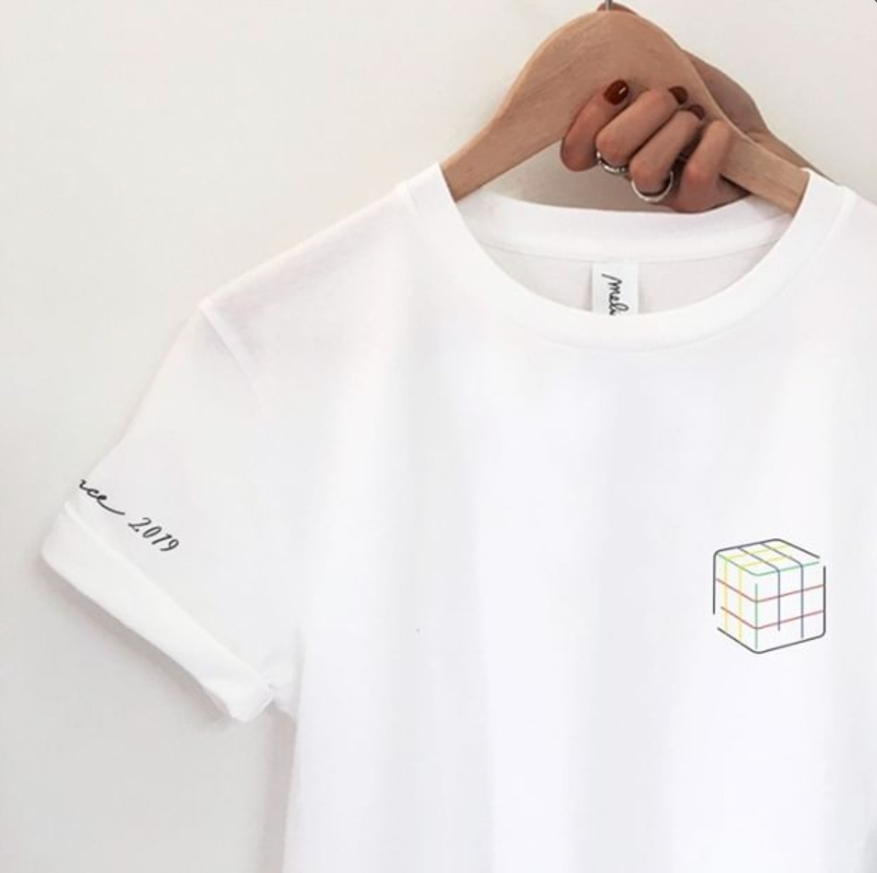 my melidé - The RUBIK MINI tee