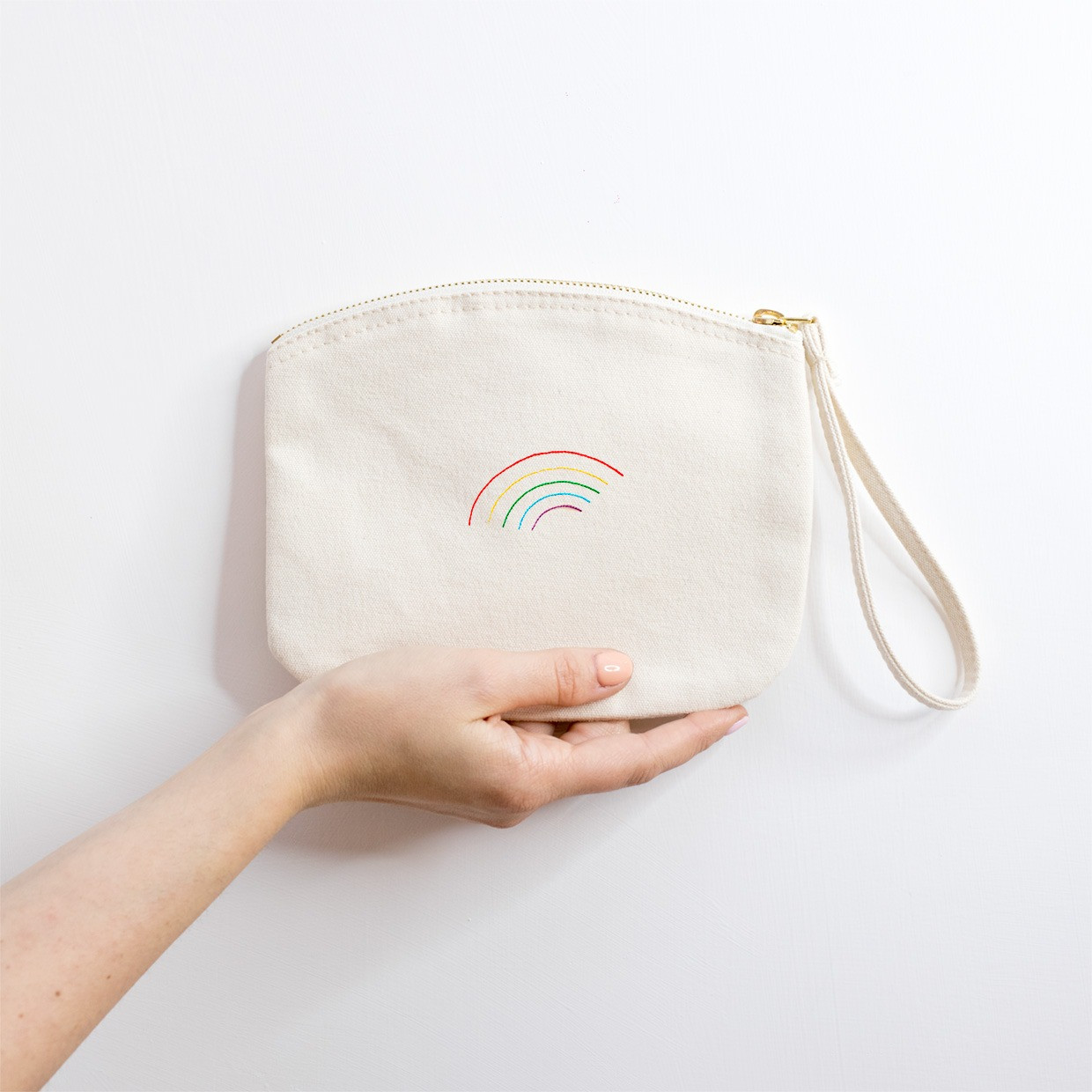 The ZIPPED POUCH M - Rainbow