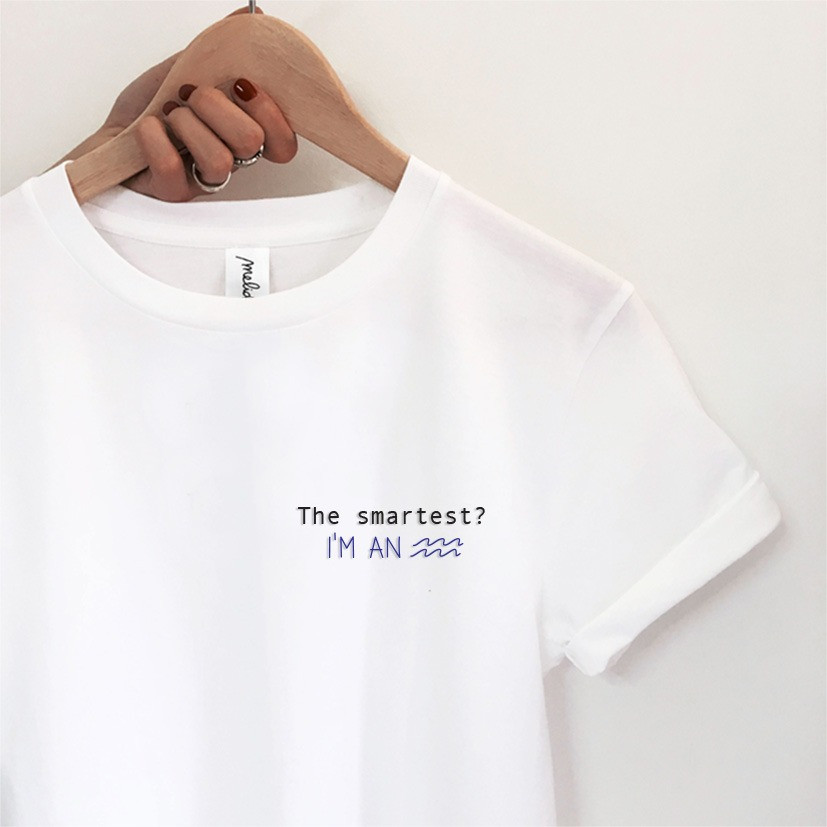 The SMARTES? AQUARIUS tee