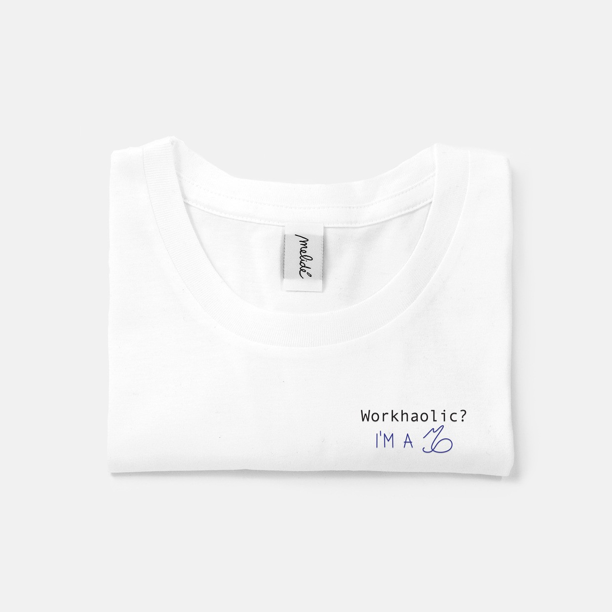 The WORKAHOLIC? CAPRICORN slim fit tee