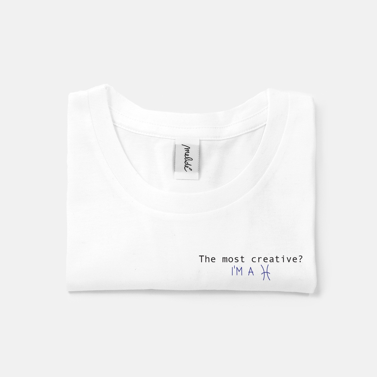 The MOST CREATIVE? PISCES slim fit tee
