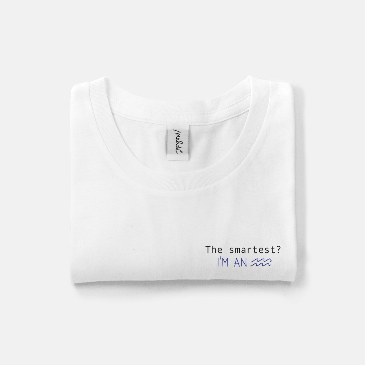 The SMARTEST? AQUARIUS ultimate tee