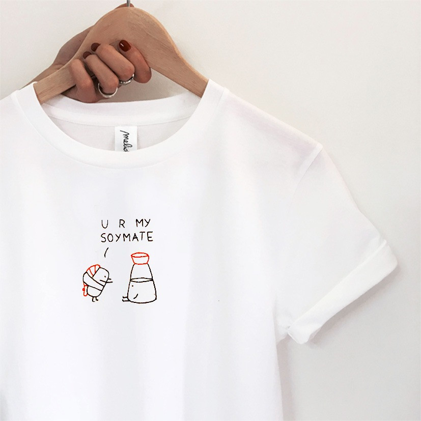 The YOU ARE MY SOYMATE Tee
