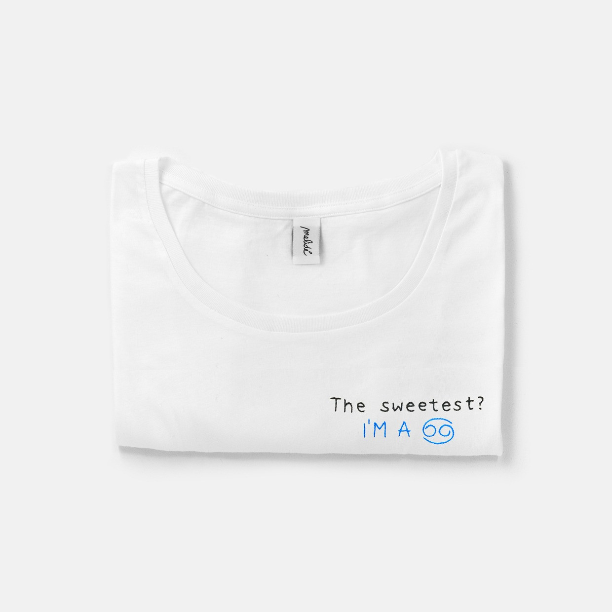 The SEETEST? CANCRO wide neck tee