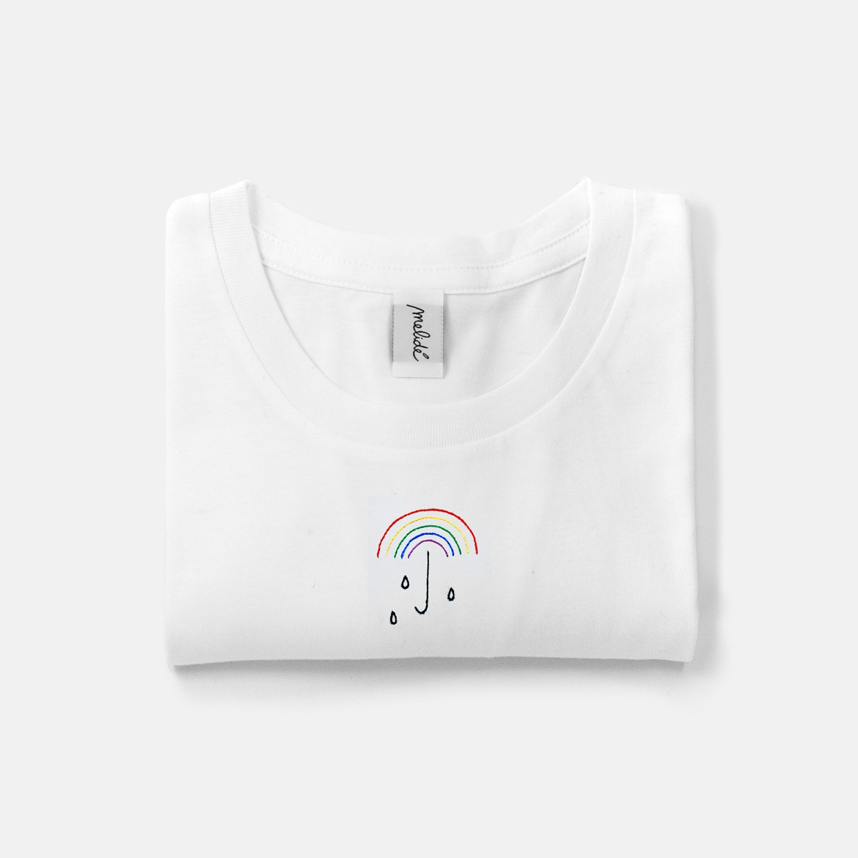 The NO RAIN NO RAINBOW ultimate tee
