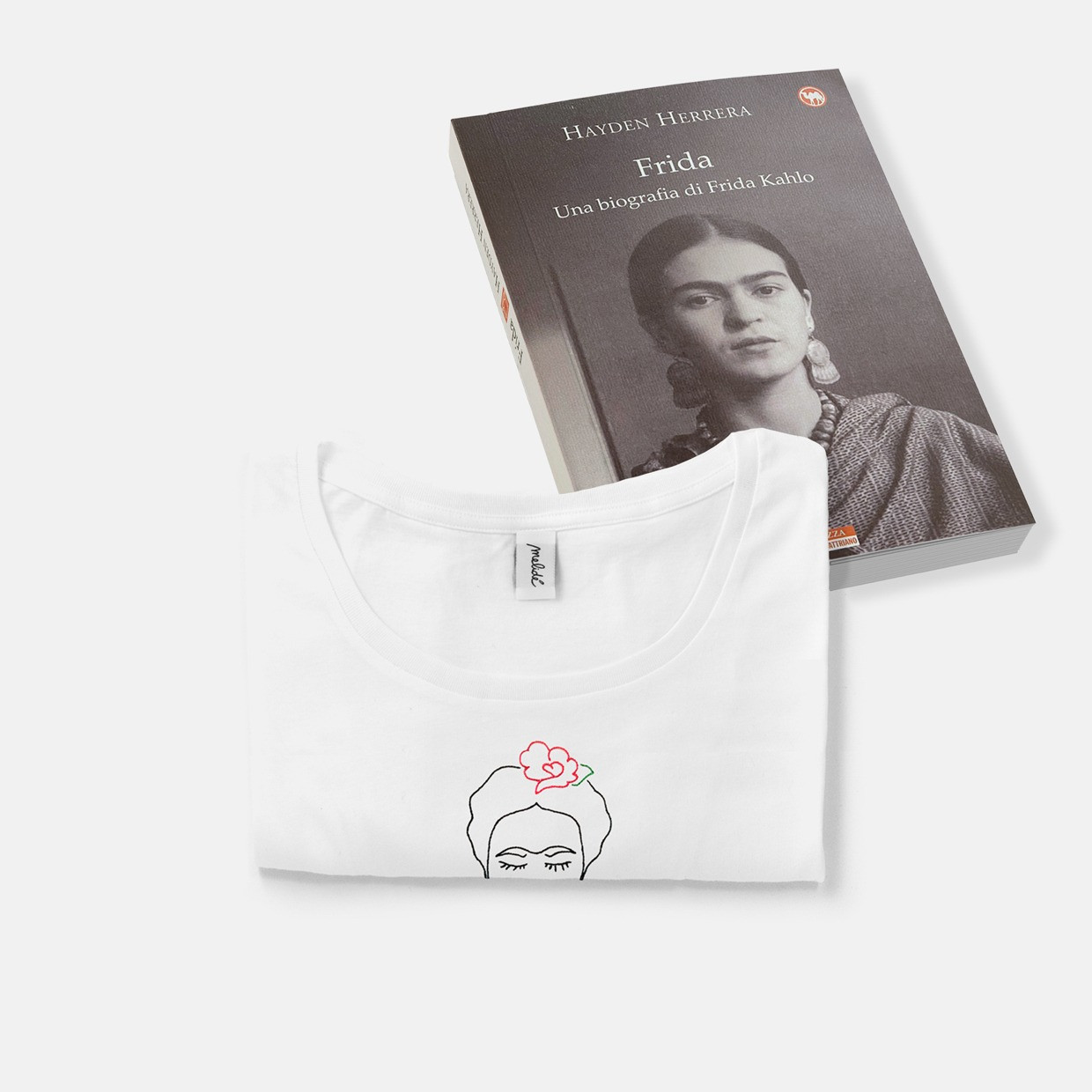 The Frida kit - wide neck tee