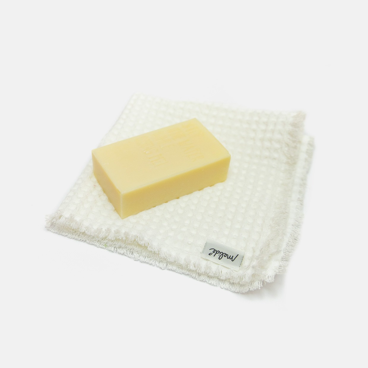 Kit lavetta + Limone e miele soap bar