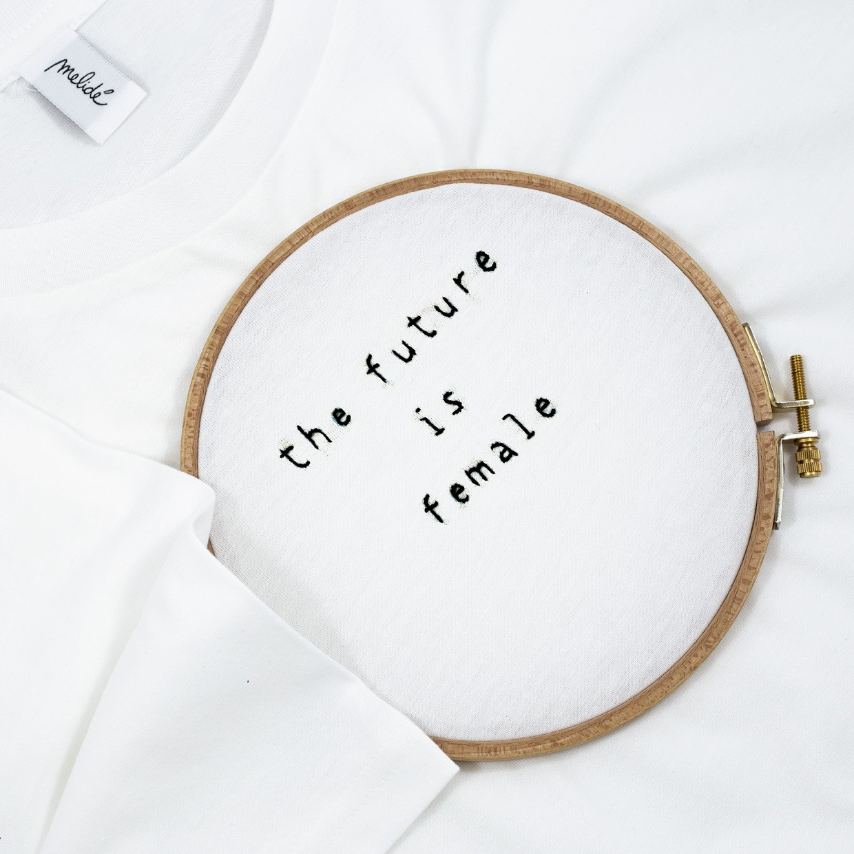 The FUTURE IS FEMALE ultimate woman tee