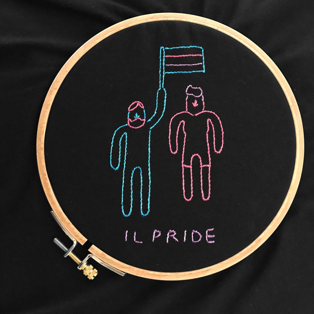 The PRIDE Tee + QUEER CULTURE ILLUSTRATED GUIDE – MG Posani X melidé