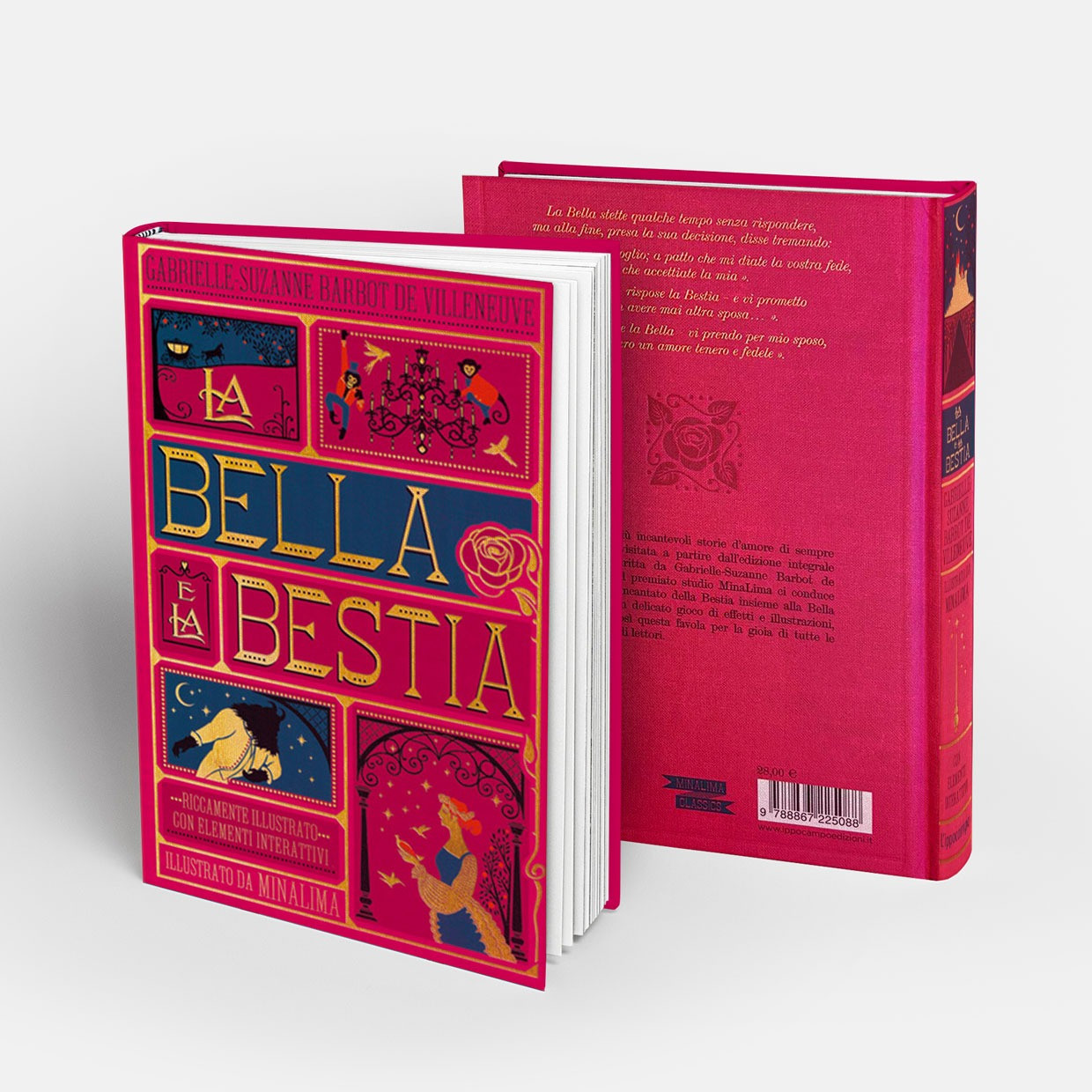 T-shirt Bestia + libro pop-up