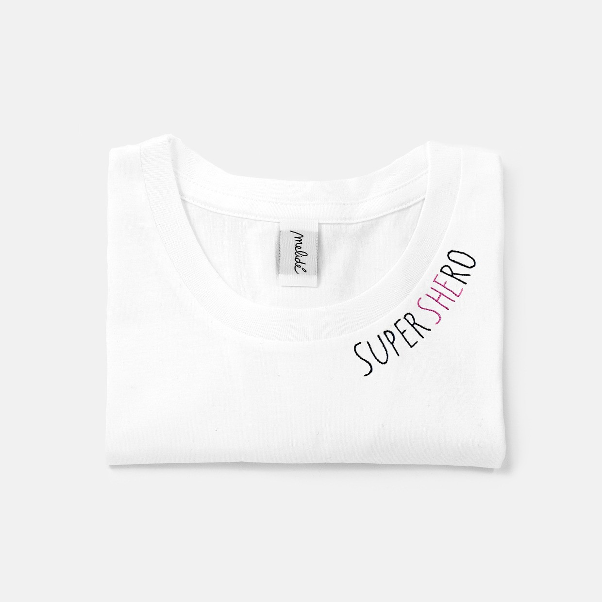 The SUPERSHERO slim fit tee - melidé X Florencia
