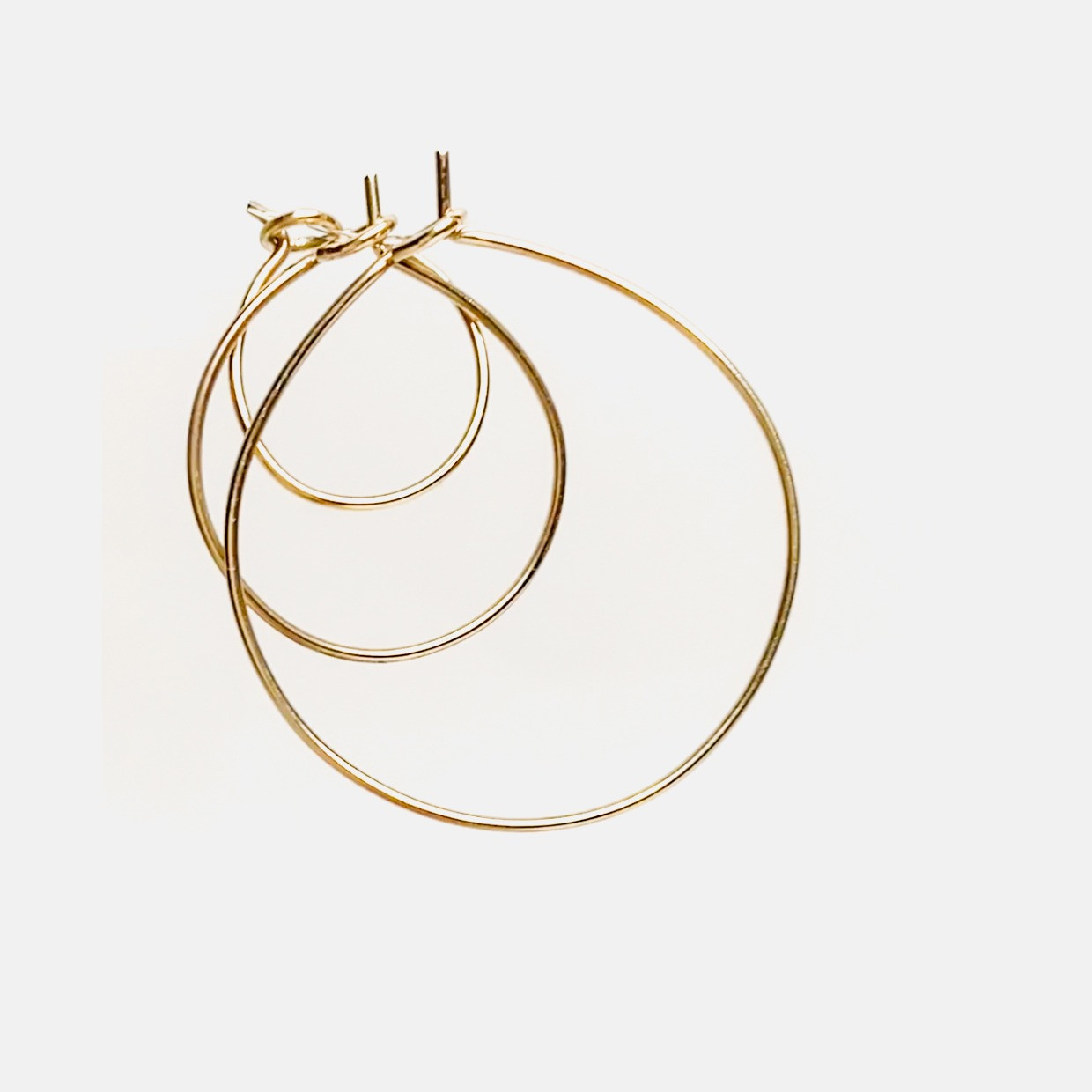 The NEVER WITHOUT earring - ORO GIALLO