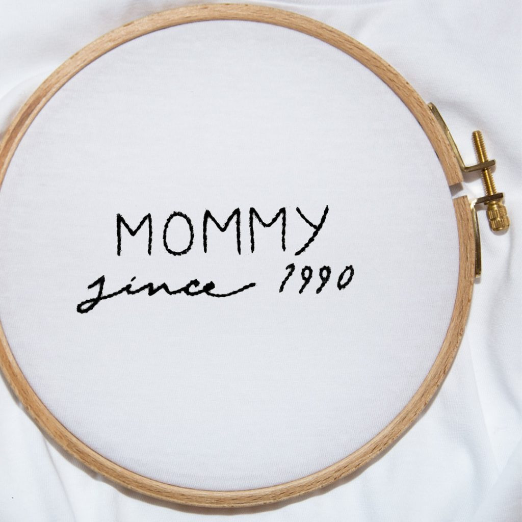 The MOMMY SINCE... Tee