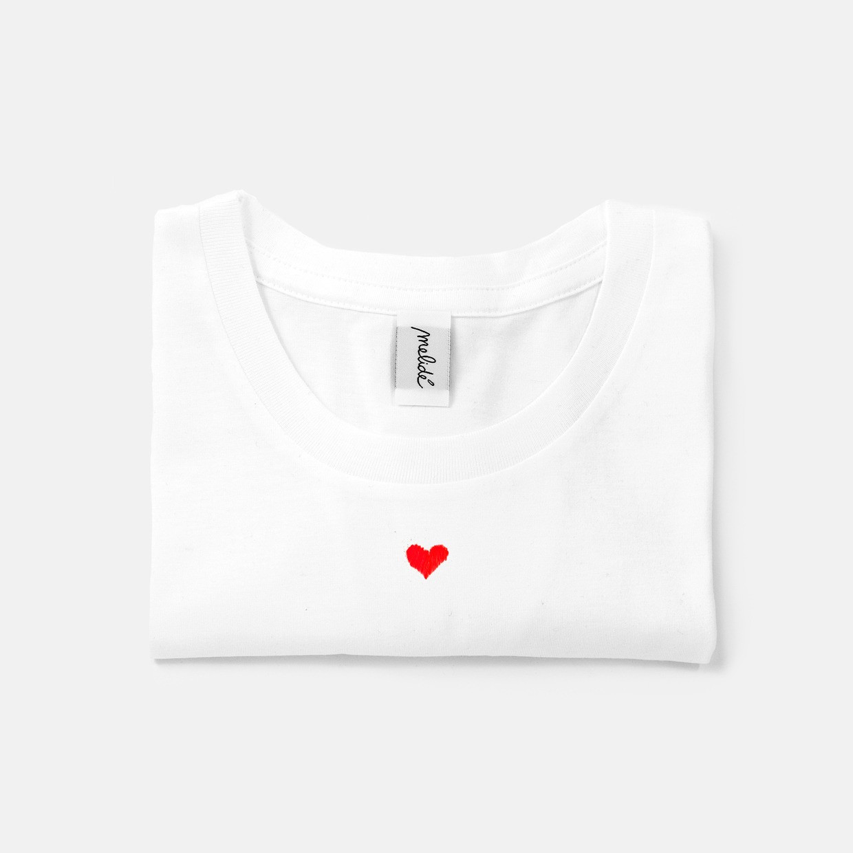 The CUORICINO slim fit tee